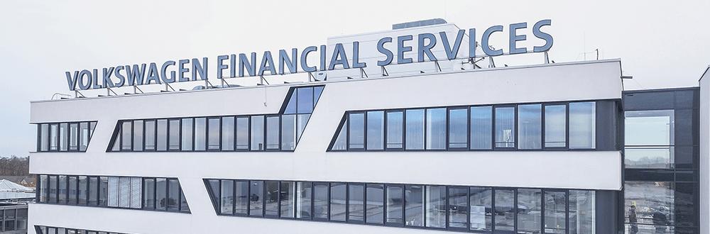 Gebäude von Volkswagen Financial Services
