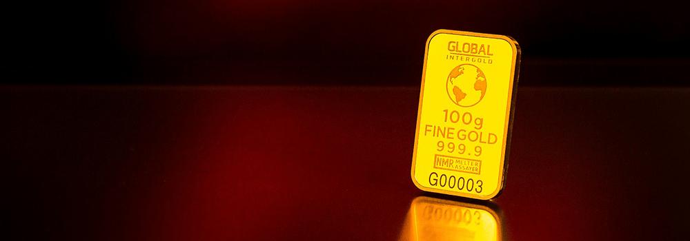 100 Gramm Gold