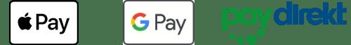 Logos der App-Payment-Anbieter