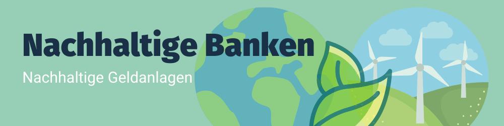 Header für nachhaltige Banken
