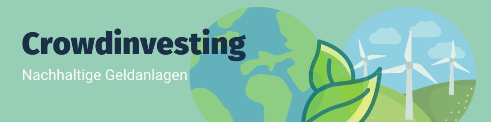Header Nachhaltigkeit Crowdinvesting